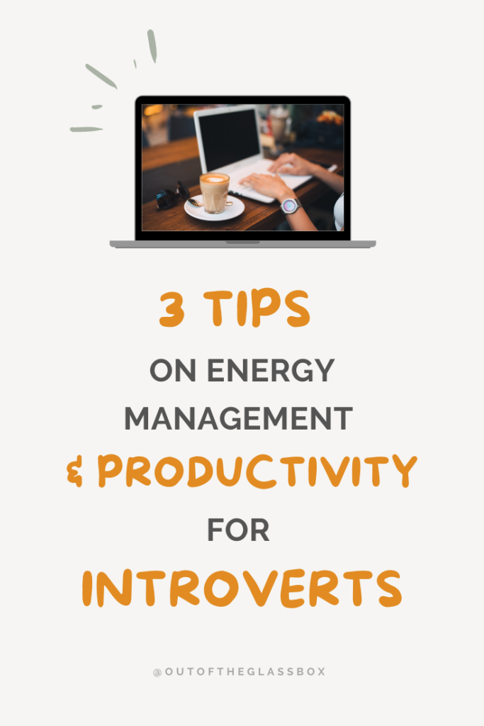 Productivity tips for introverts